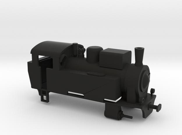 R302 in H0 in Black Natural Versatile Plastic