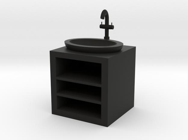 Open Fronted Modern Bathroom Sink