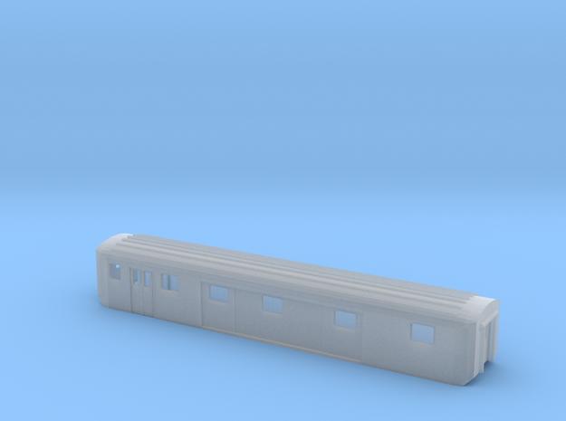 EW II Packwagen SBB Scale TT Gehäuse in Smooth Fine Detail Plastic
