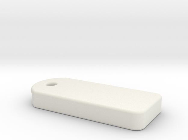 Cherry Keeper - Blank Key Safe in White Natural Versatile Plastic