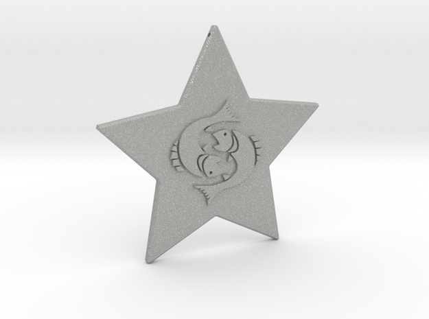 star-pisces in Aluminum