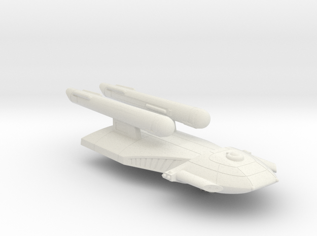 3125 Scale Federation Old Heavy Cruiser WEM in White Natural Versatile Plastic