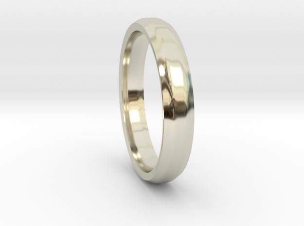 Ring in 14k White Gold