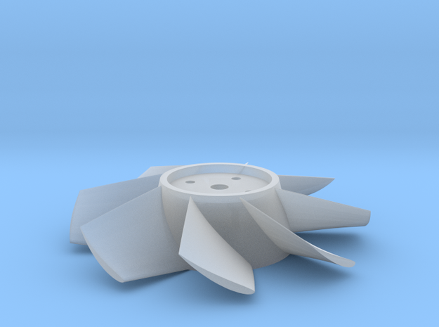 Rotor 65mm conical hub in Smooth Fine Detail Plastic