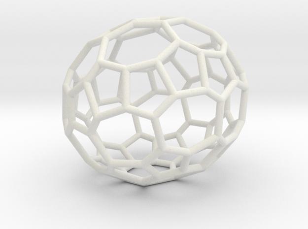 48hedron in White Natural Versatile Plastic