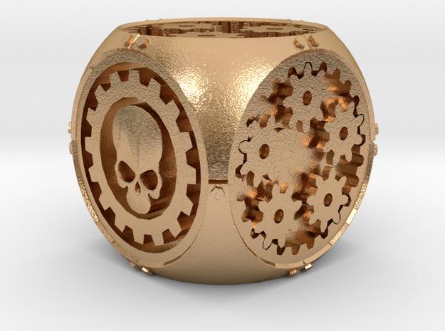 Gear Die in Natural Bronze