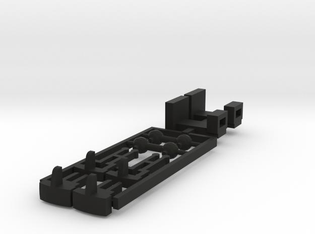 Sv12 or Dv12 Roco gadgets in Black Natural Versatile Plastic