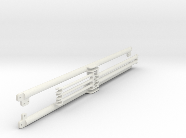 side_frame_middle_section in White Natural Versatile Plastic