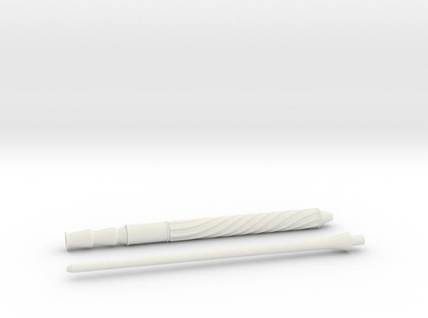 Original Wand in White Natural Versatile Plastic
