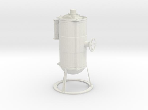 Tank mit Ventil Diorama Ladegut in White Natural Versatile Plastic