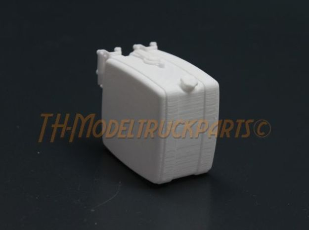 THM 00.2102-034 Fuel tank Tamiya MAN in White Processed Versatile Plastic