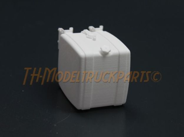 THM 00.2102-042 Fuel tank Tamiya MAN in White Processed Versatile Plastic