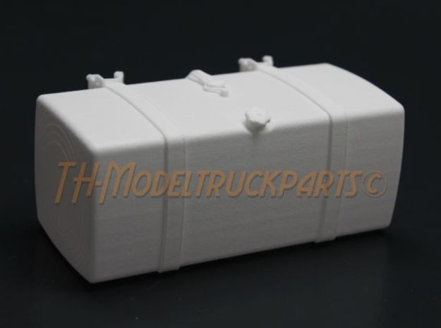 THM 00.2102-110 Fuel tank Tamiya MAN in White Processed Versatile Plastic