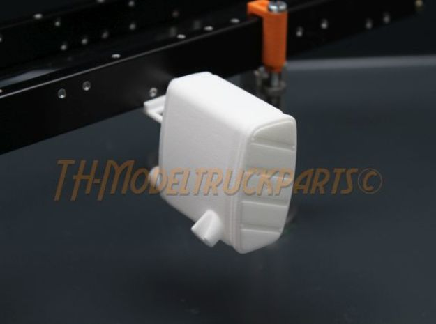THM 00.2206 Exhaust right Tamiya MAN in White Processed Versatile Plastic
