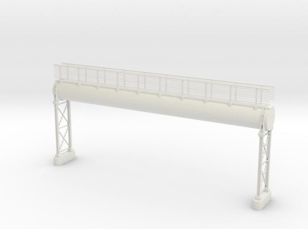 Pipeline Hochanlage mit Gangway in White Natural Versatile Plastic