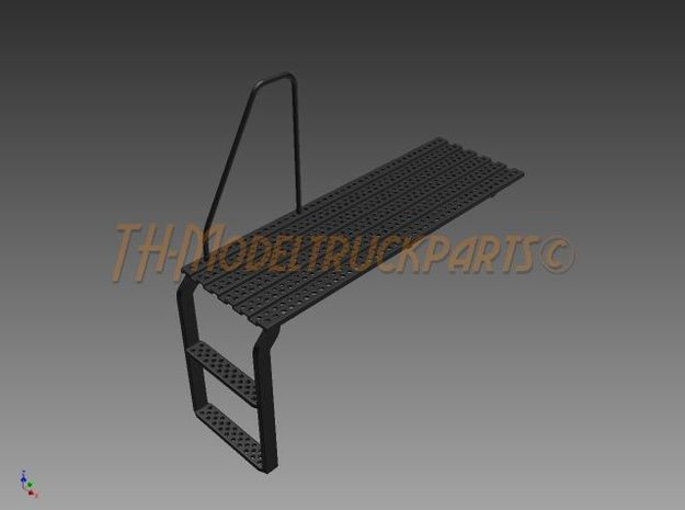 THM 01.1016 Platform large with step in Black Natural Versatile Plastic