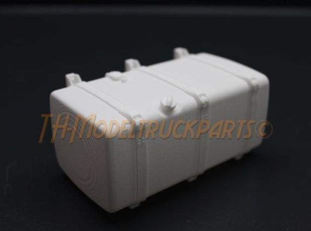 THM 00.4133-100 Fuel tank Tamiya Scania Low in White Processed Versatile Plastic