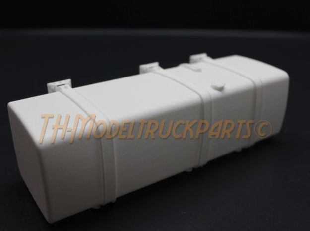 THM 00.5103-165 Fuel tank Tamiya Volvo FH12 in White Processed Versatile Plastic