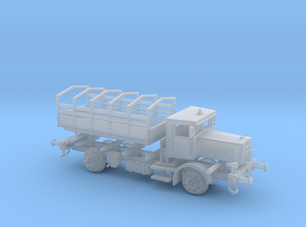 1:120 DRG LKW VOMAG  Schienen Truck  in Smooth Fine Detail Plastic