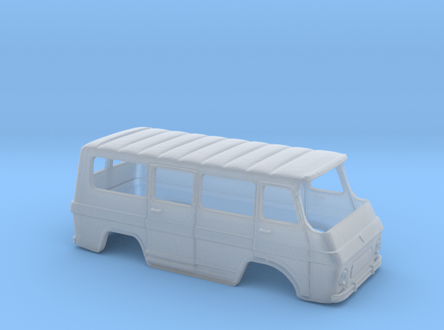 Rocar TV 12 M Body - Romanian Minibus Scale 1:160 in Smooth Fine Detail Plastic