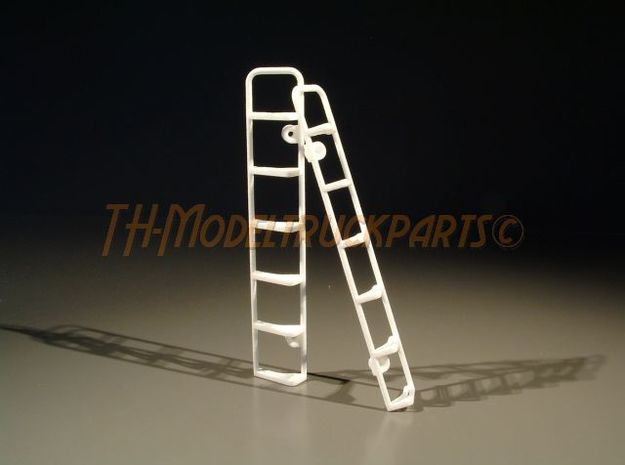 THM 07.4075 stepladder Scania cab in White Processed Versatile Plastic