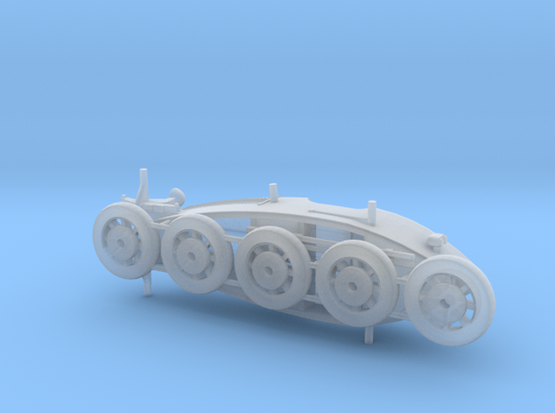 S scale 1:64 - Bugatti 35 1925 in Smooth Fine Detail Plastic