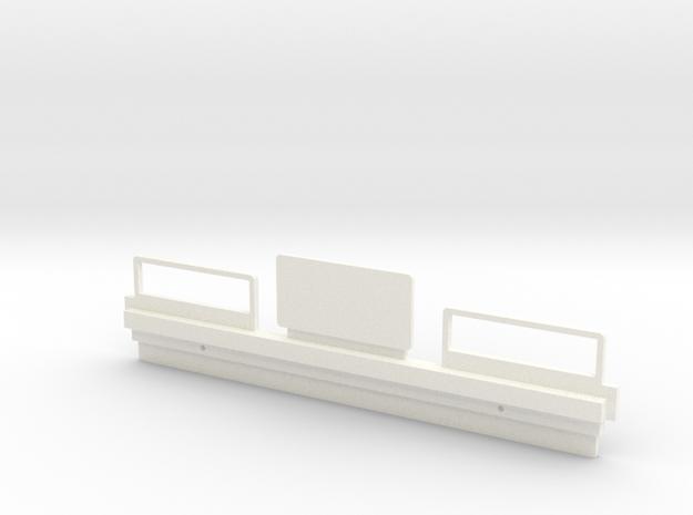 026001-01 58028 Tamiya Hilux Tail Lamp Panel in White Processed Versatile Plastic