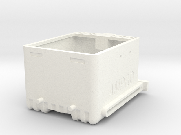 "tth1203-01 Thunder Tiger Storage ""Fuel Tank"" in White Processed Versatile Plastic"