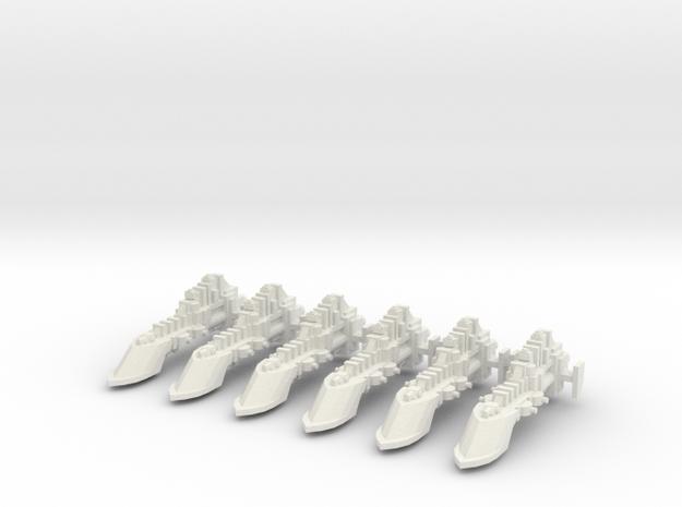 Nave civil requisada x6 in White Natural Versatile Plastic