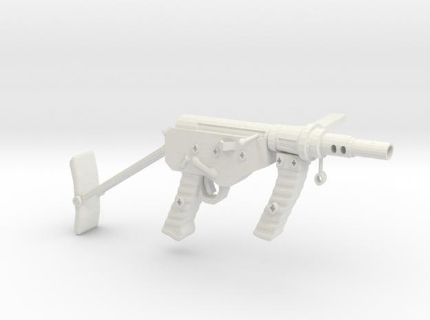 Ostin MK2 Australian SMG1B in White Natural Versatile Plastic