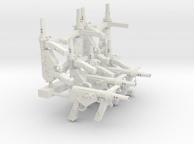 OstinMK2AustralianSMG1CSET10 in White Natural Versatile Plastic