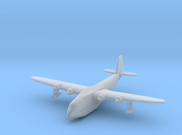 Short S23 Empire Flying Boat in Smoothest Fine Detail Plastic: 1:700