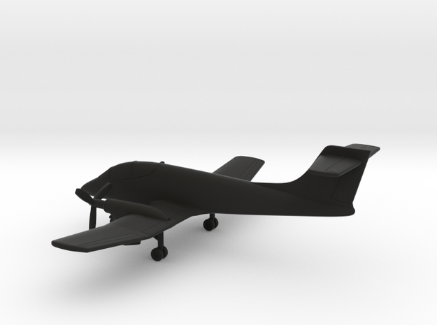 FMA IA-58A Pucara in Black Natural Versatile Plastic: 1:200