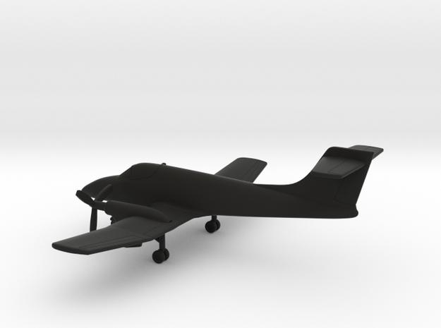 FMA IA-58C Pucara in Black Natural Versatile Plastic: 1:200