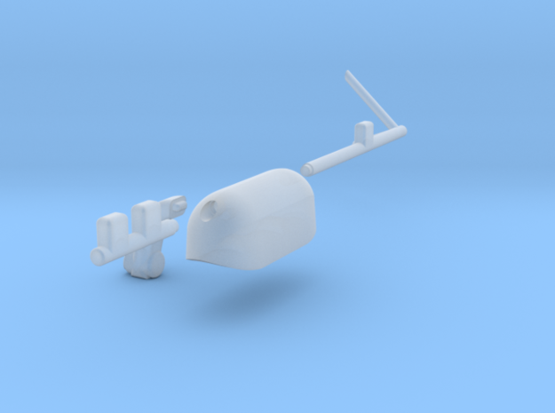 Westland Wessex External Stores Carrier (Port) in Smooth Fine Detail Plastic: 1:72