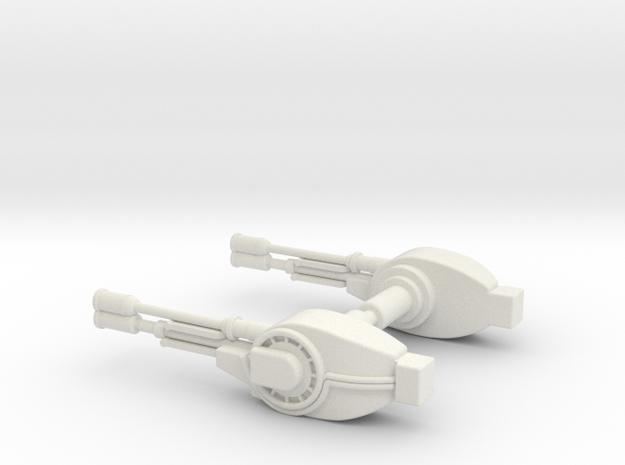 Kenner TVC Boba Fett's Slave I Tail Gun in White Natural Versatile Plastic