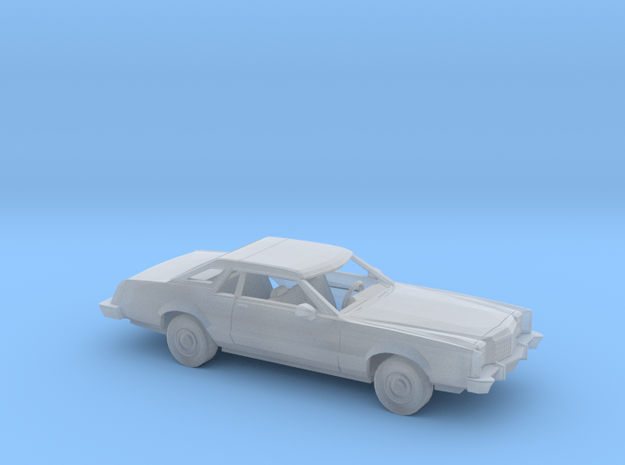 1/87 1977-79 Ford LTD II Brougham Coupe Kit in Smooth Fine Detail Plastic