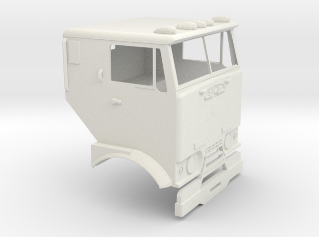 1/16 GMC Crackerbox Cab in White Natural Versatile Plastic