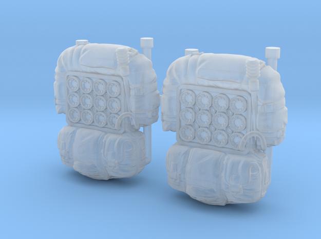 Radio Packs (x2) in Smoothest Fine Detail Plastic