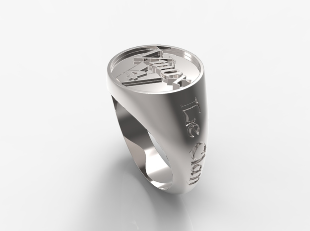 Ring Le Clan Vmax in Polished Silver