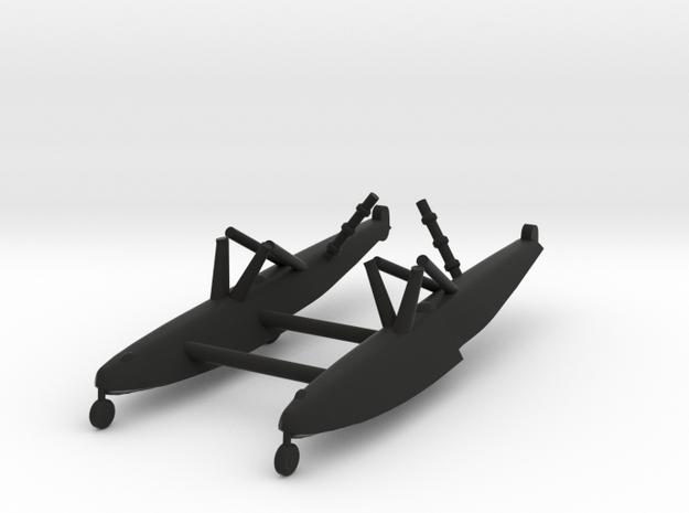 XC-47C Floats in Black Natural Versatile Plastic