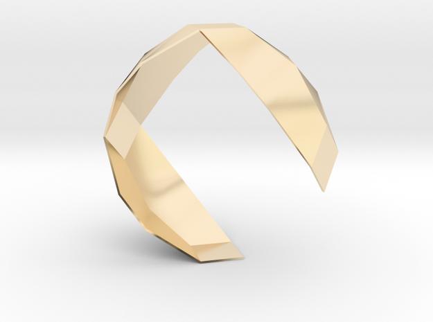 f110 wristware gmtrx in 14K Yellow Gold