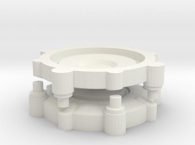 Legion Landmines Pair in White Natural Versatile Plastic