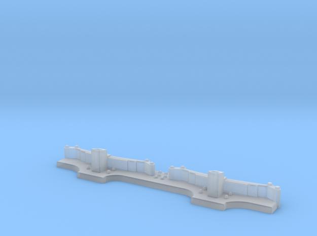 Boggiesida Vabis 600 mm 0 scale  in Smooth Fine Detail Plastic: 1:45