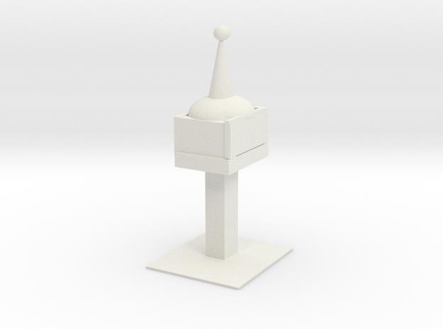 Space Needle in White Natural Versatile Plastic
