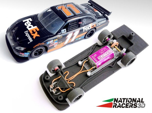Chassis - SCX TOYOTA CAMRY (Combo) in Black Natural Versatile Plastic