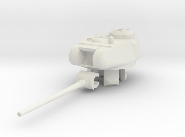1/100 KV/IS-85 Turret in White Natural Versatile Plastic