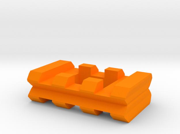 "Back-to-Back Weaver Rails Adapter (3 Slots 0.405"""