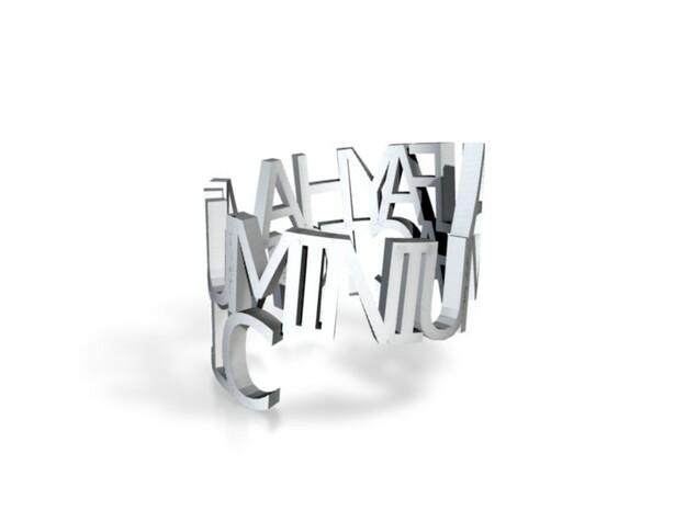 Al Fayha Ring 3d printed