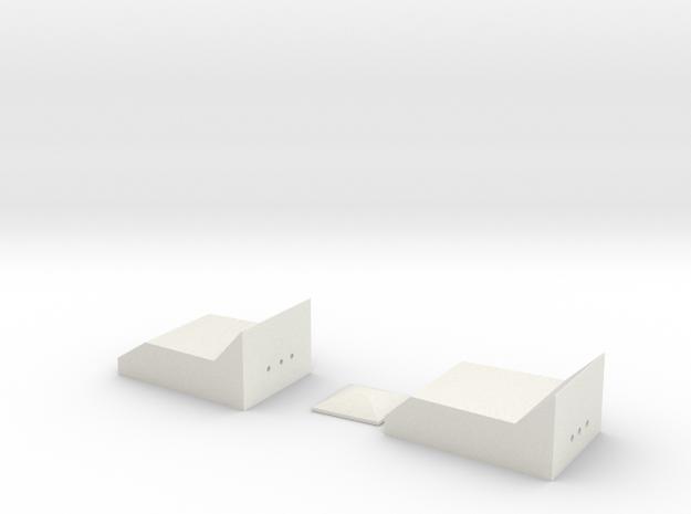 Rangefinder Clear Parts in White Natural Versatile Plastic